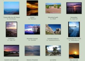 Sept submissions 22nd-28th by Scapes-club