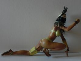 Warrior Isis making of by georgesmassilia