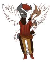 Mega Absol by FluffyFluffs