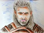 Geralt of Rivia by hikefd