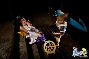 Final Fantasy X - Tidus and Yuna 03 by portpolyonamo1979