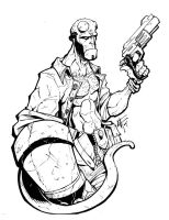 'Hell boy... its HELLBOY' by -adam-