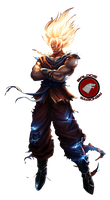 Epic Goku Render by Baldos55