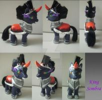 My little Pony Custom G4 King Sombra by BerryMouse