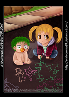 Beel and Futaba Color by enricoroma87