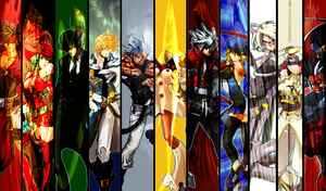 My Full and Extended Fighting Game Family by One-Mister-Badguy