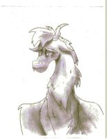 Young Discord Sketch~ Shading by Golden-Freddy-1337