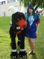 Houndoom and Jenny