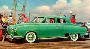 age of chrome and fins : 1950 Studebaker by Peterhoff3