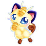 Meowth v2 by Clinkorz