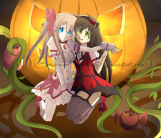 .::Happy Halloween::. by Scarlett-Knight