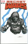 Dr. Doom Secret Wars sketch cover by nguy0699