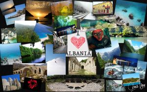 Albania in One by ChR1sAlbo