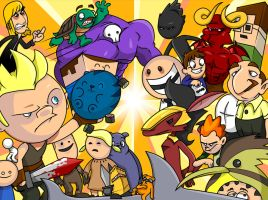 NG Characters by cgianelloni
