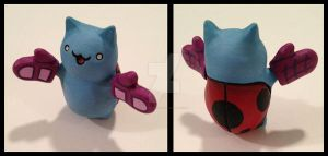 Catbug Everything is Okay! by crokittycats