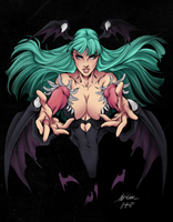 Morrigan by Sorathepanda