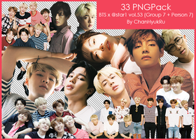 33 / BTS x @star1 vol.53 PNGPack by ChanHyukRu