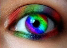 Intense Rainbow EYE by LT-Arts