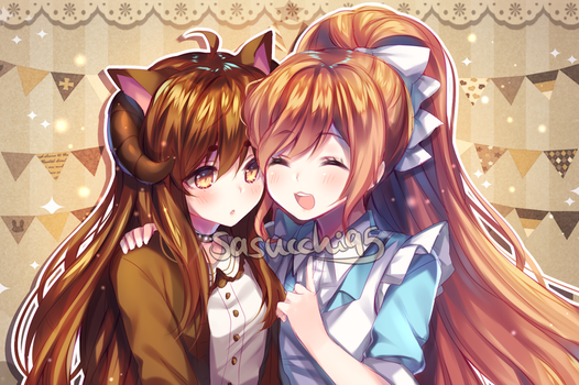 colored sketch commission by sasucchi95