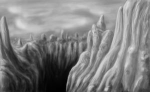 Petrified Giant Peaks by DarkSideOfDuzio
