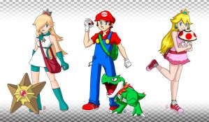 Mario + Pokemon