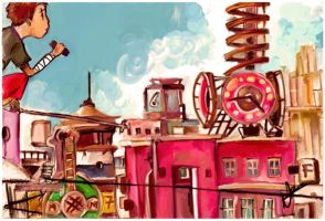 tekkonkinkreet by paintupyourass