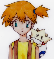 Misty and Togepi - [Pokemon] by SidselC