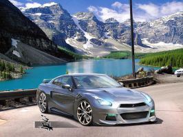 "Nissan GTR  ""Updated"" by REDZ166"