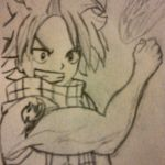 Natsu ( Fairy Tail) First Attempt by NintendoFanDj