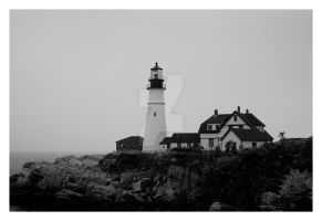 Portland Head Light by mom-the-bomb