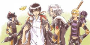 Vongola like a Varia by UnlovedC