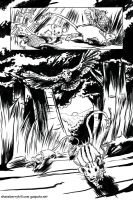 Great Dragon pg1 inks by gzapata