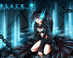 Black Rock Shooter by Seventii