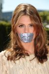 Stana Katic tape gagged by ikell