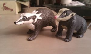 farthing wood Hornby Badgers by CrocodileRawk
