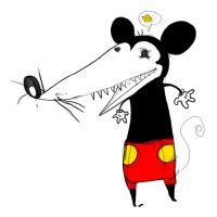 Mickey Mouse Feio 2 by JackHook