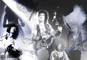 Brian May tribute by uberkid64