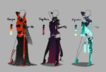 Outfit design - Zodiacs - 4 - closed by LotusLumino