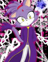 Blaze the cat by akatsukikonanfan