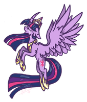 Regal Princess Twilight Sparkle by Void-Adoptables