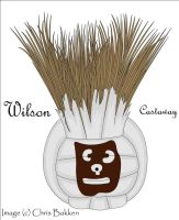 Wilson from Castaway by darthpinhead47