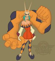 Skullgirls Cerebella by DigitalRum