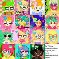 Homestuck Icon Requests Are CLOSED by DarlingKnife