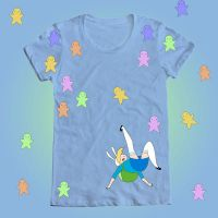 WeLoveFine Fionna Kick Shirt Contest Submission by ichigomomo