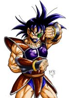 Till, father of Bardock by BK-81