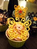 Butterfly Cupcakes by Sliceofcake