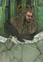Thorin and Roac by Norloth