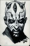 DCC Darth Maul Con Sketch by gattadonna