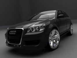 Audi A3 Coupe by THCPiLLZ