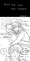 Kissing can cure insomnia by bbcchu